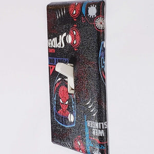 Spiderman Symbols Outlet Cover Side View