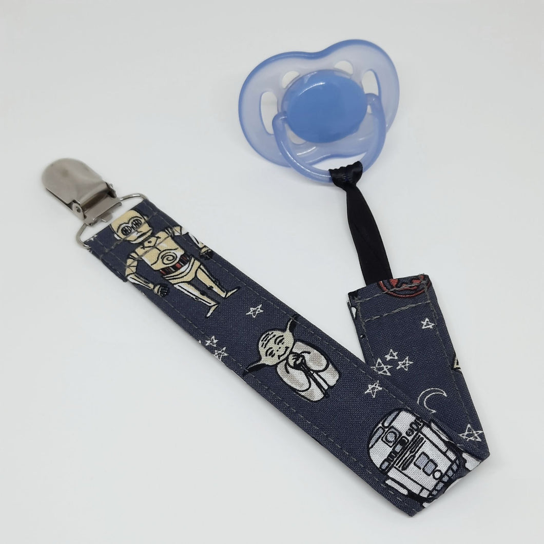 Star Wars Characters Pacifier Clip with Pacifier