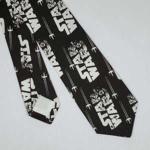 Star Wars Tie Fighter Necktie Front and Back