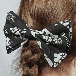 Star Wars Tie Fighter Hair Clip in Hair