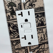 Load image into Gallery viewer, Tribal Style Zelda Outlet Cover Close Up
