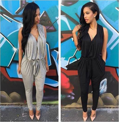 Sweetheart Lounge Jumpsuit