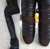 Leather Bandage Leggings