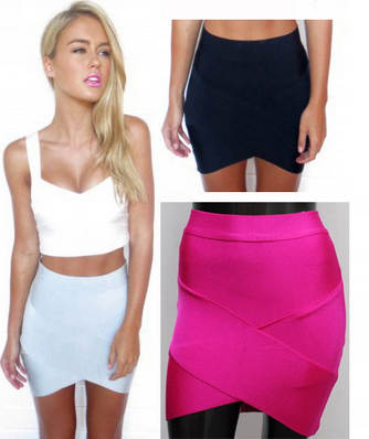 Luxe Bodycon Bandage Skirt