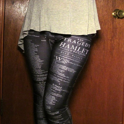 William Shakespeare Hamlet Leggings