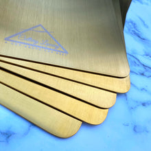 Load image into Gallery viewer, Cutlery Luxury 'Gold' Chopping Board