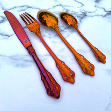 Load image into Gallery viewer, Cutlery Luxury 'Heatwave' Cutlery Set