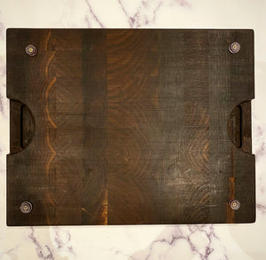 Black Walnut End Grain Chopping Board