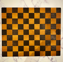 Load image into Gallery viewer, Maple and Walnut Checkered Chopping Board - Cutlery Luxury