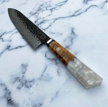 Load image into Gallery viewer, Cutlery Luxury - Pearl Carbon Drip II - Chef Knife