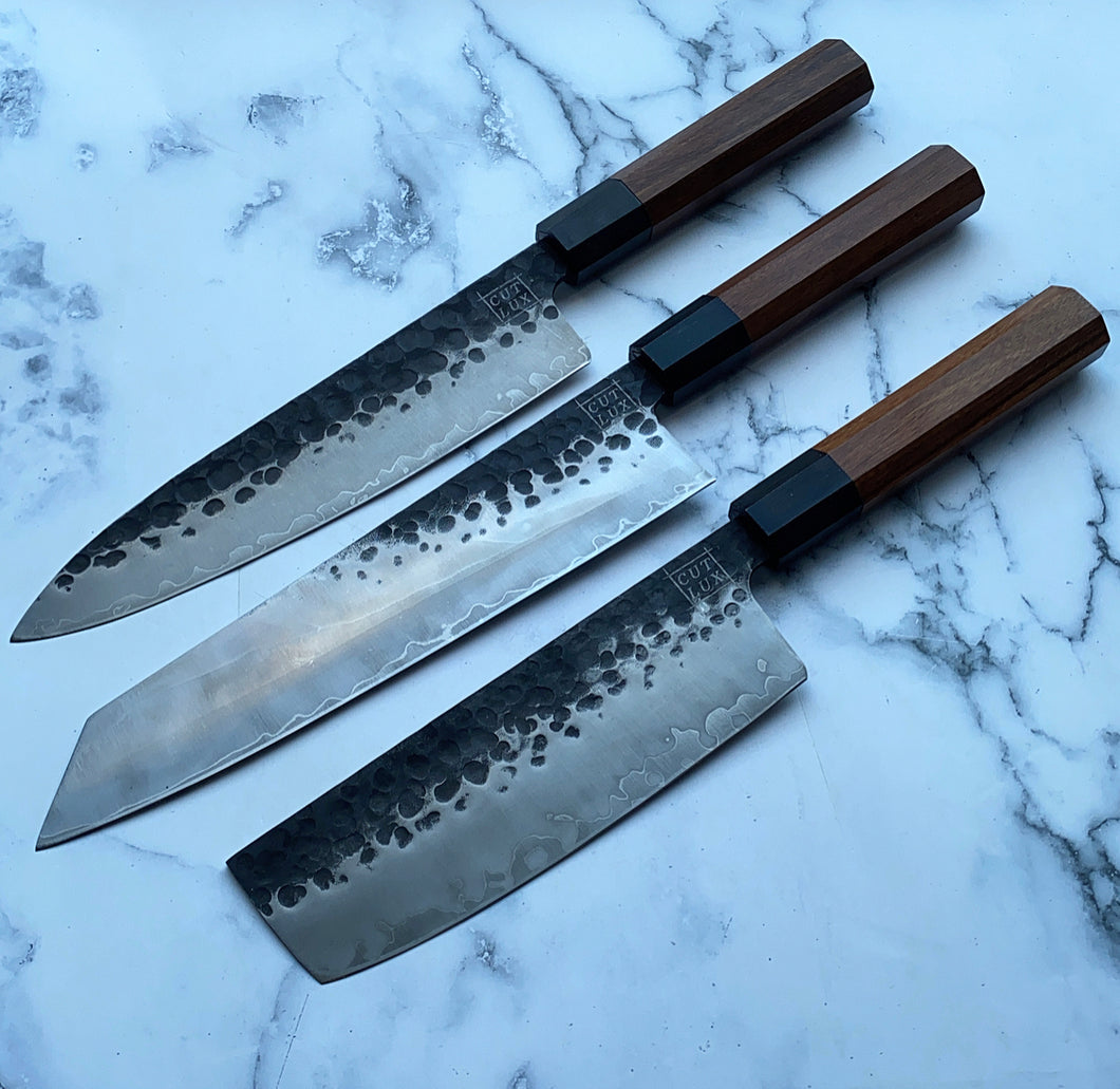 Cutlery Luxury - Carbon Drip Chef Set