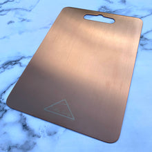 Load image into Gallery viewer, Rose Gold Chopping Board