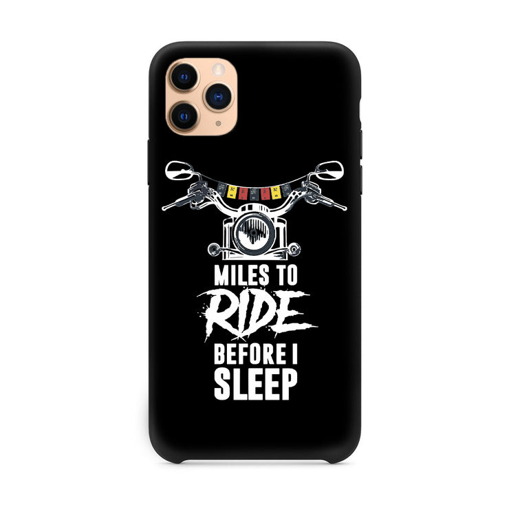 Miles To Ride iPhone 11 Pro Case