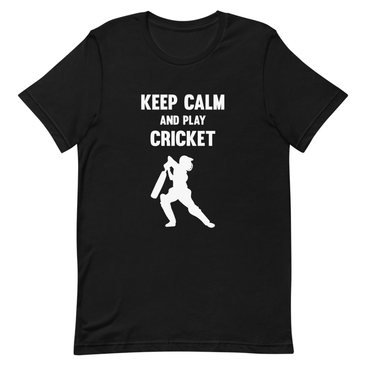 Keep Calm & Play Cricket