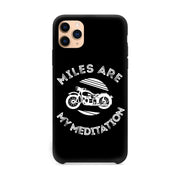 Miles Are My Meditation iPhone 11 Pro Case