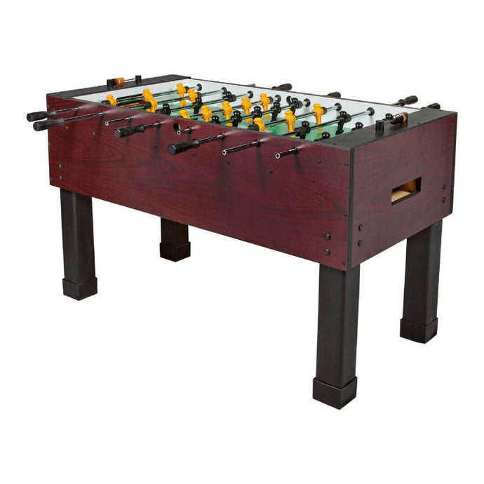 Tornado Foosball Table - Made in The USA - Commercial Tournament Quality Table Soccer Game for The Home (A) Sport