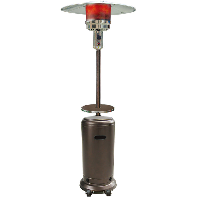 Cambridge 7 Ft. 41,000 BTU Steel Umbrella Propane Patio Heater in Hammered Bronze Finish