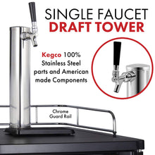 Load image into Gallery viewer, Kegco K199SS-1 Kegerator 1 Faucet Stainless Steel