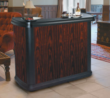 Load image into Gallery viewer, Carlisle 7550094 Maximizer Portable High Top Entertainment Bar, Cherry Wood
