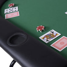 Load image into Gallery viewer, Foldable 8 Player Poker Table Casino Texas Hold'em Play Table Holdem Card Game TY310280