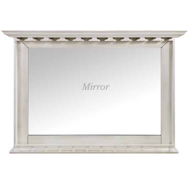 Bar Mirror - Antique White