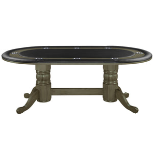 "84"" Texas Hold 'Em Game Table - Slate"