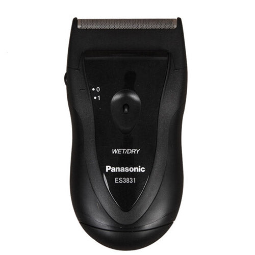 Panasonic ES-3831 Washable Battery Operated Shaver (Black)