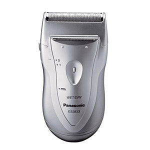 Panasonic ES-3833 Washable Battery Operated Shaver (Silver)