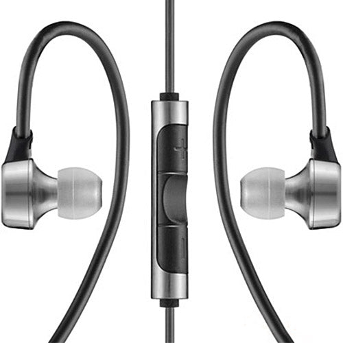 RHA MA750i Premium Noise Isolating In-Ear Headphone for iOS (Stainless Steel)