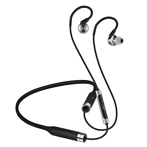 RHA MA750 WIRELESS Bluetooth in-ear headphone (Stainless Steel)