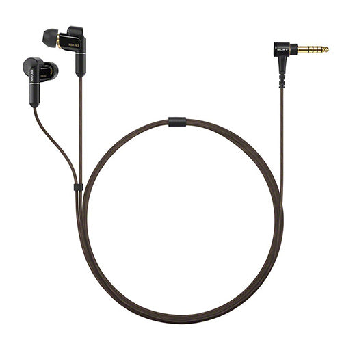 Sony XBA-N3BP in-ear headphones with 4.4 mm balanced-connection cable (Black)
