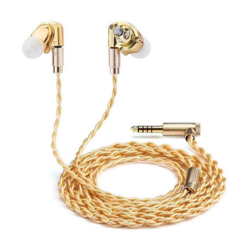 Acoustune HS1695Ti Myrinx driver in-ear monitor headphones (Gold)