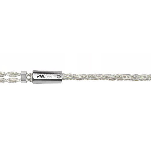 PW Audio Vanquish Series Loki+ headphone cable (8 Wire) (Silver)