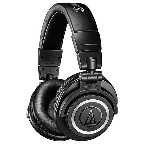 Audio-Technica ATH-M50xBT Wireless Over-Ear Headphones (Black)