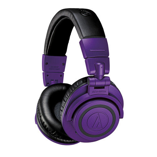 Audio-Technica ATH-M50xBT PB Wireless Over-Ear Headphones Limited Edition (Purple)