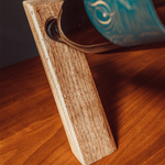 Walnut Balanced Bottle Holder - Thin