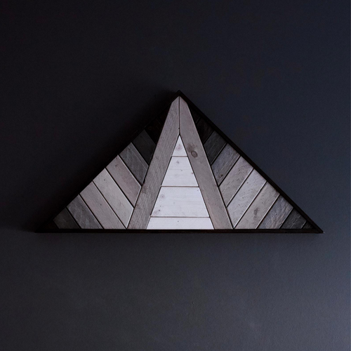 Shift Monochrome Gradient Triangle