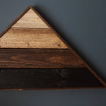 Tobacco Gradient Triangle