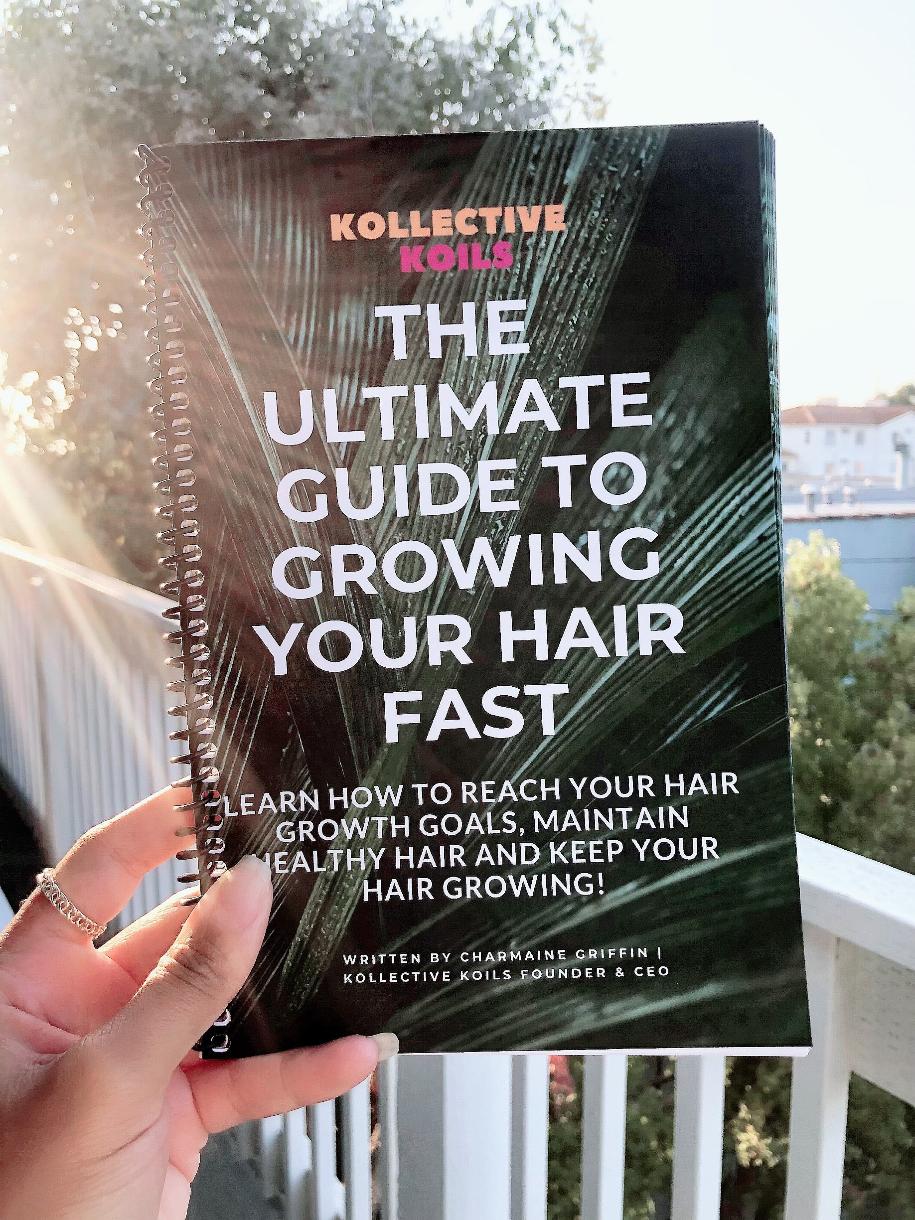 Book: The Ultimate Guide to Growing Your Hair Fast