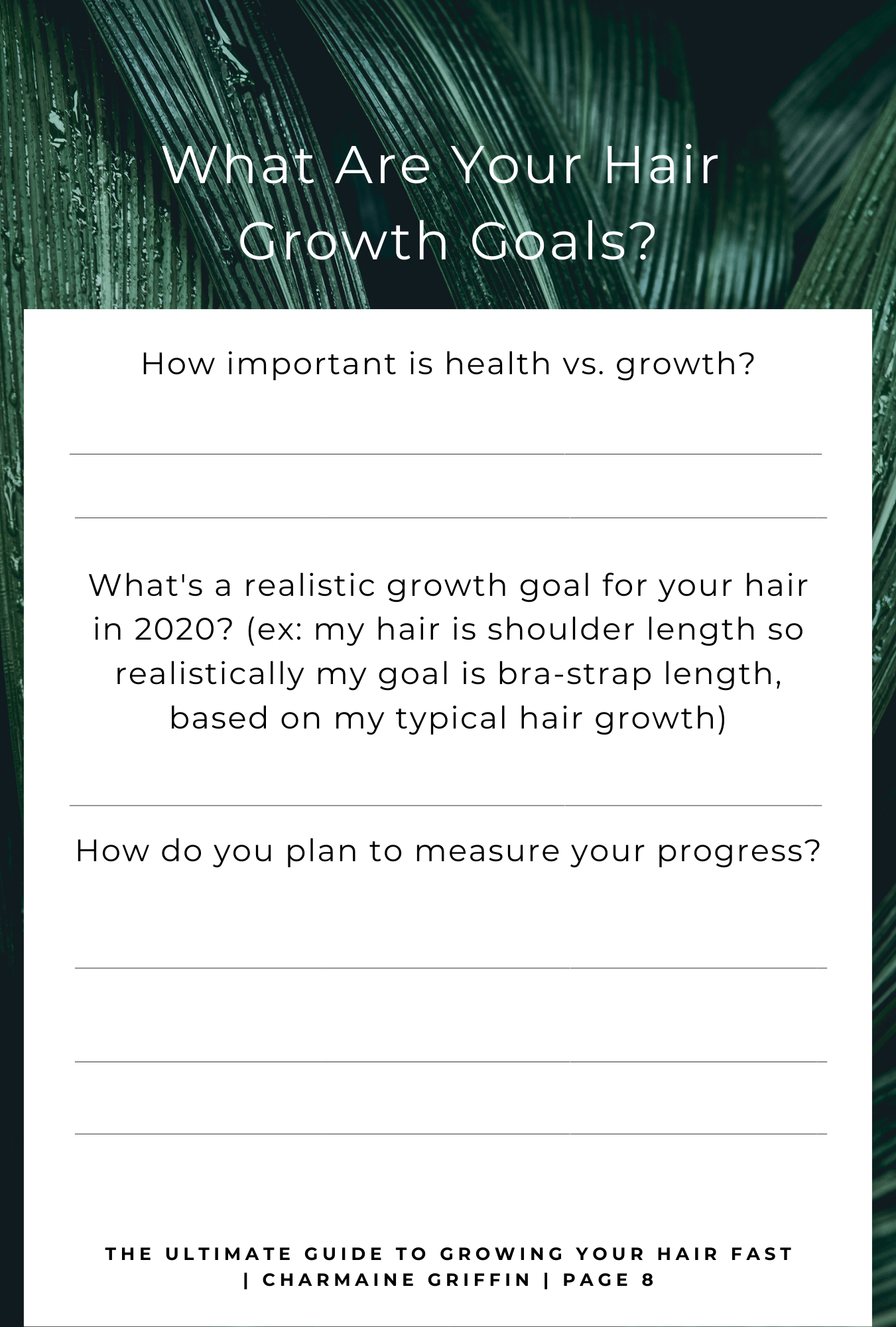 E-Book: The Ultimate Guide To Growing Your Hair Fast