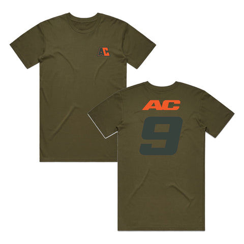 Adam Cianciarulo AC9 Tee - Military Green