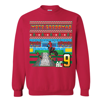 Adam Cianciarulo Ugly Christmas Sweater - Red