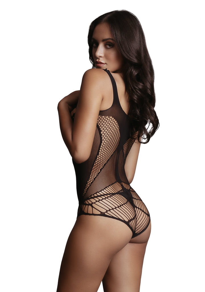 Stella - Net Body - Black
