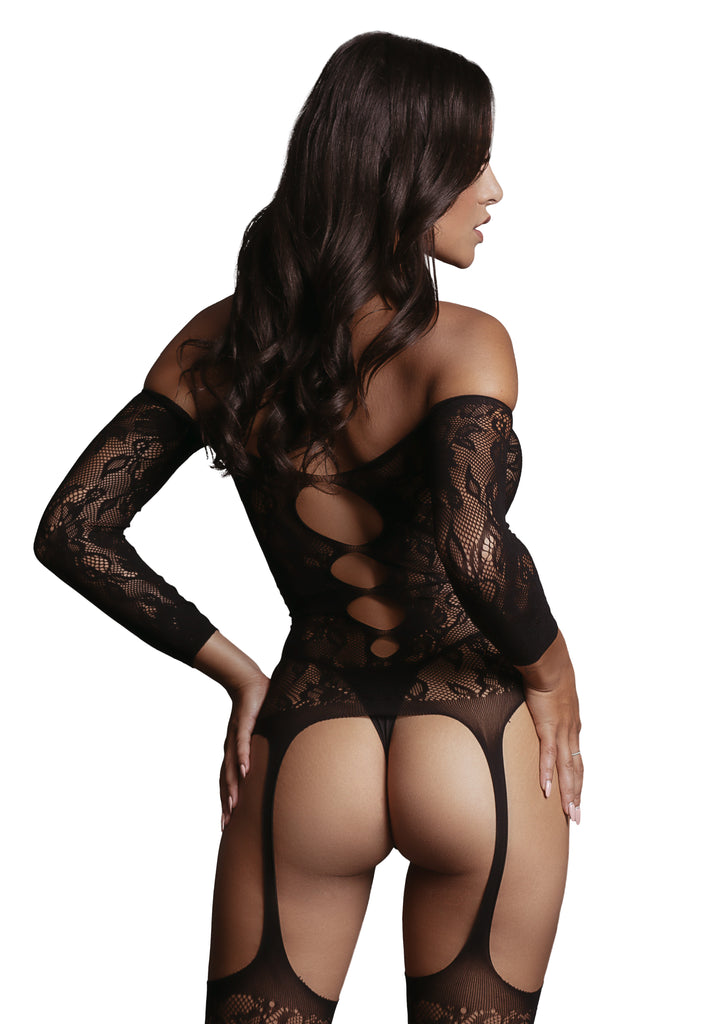 Kaylee - Bodystocking - Zwart