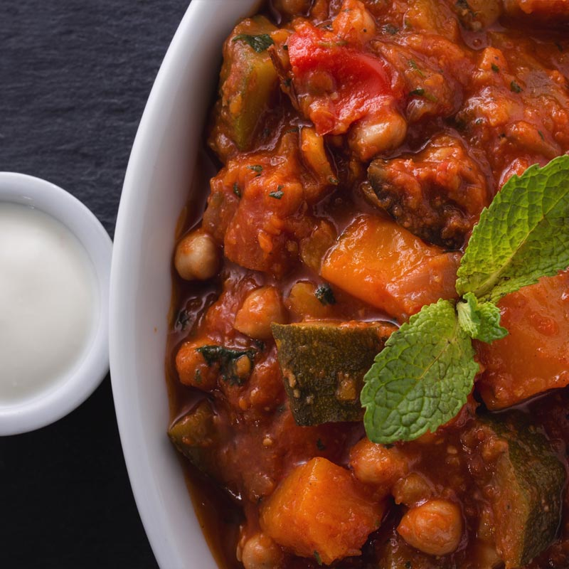 Cooked Vegetable Tagine (1kg)