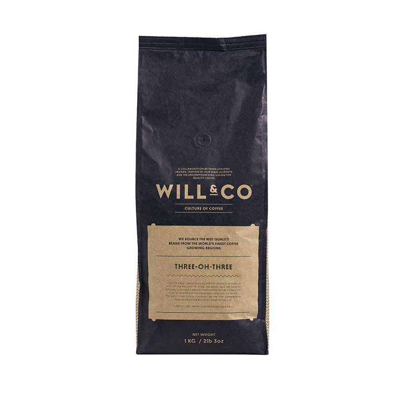 Will & Co Coffee, 303 Blend (1kg)