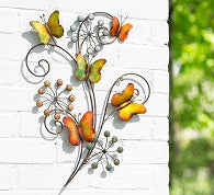 3D Butterflies and Flowers
