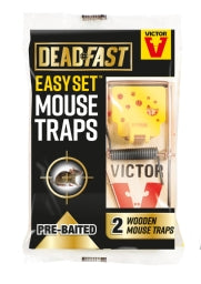 Easy Set Mouse Trap x2