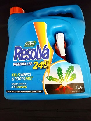 Resolva Weedkiller 24H Ready-to-use 3L