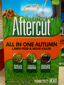 Aftercut Autumn Lawn Feed and Moss Killer